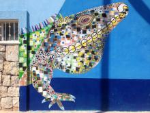 Art Street Sisal Iguana